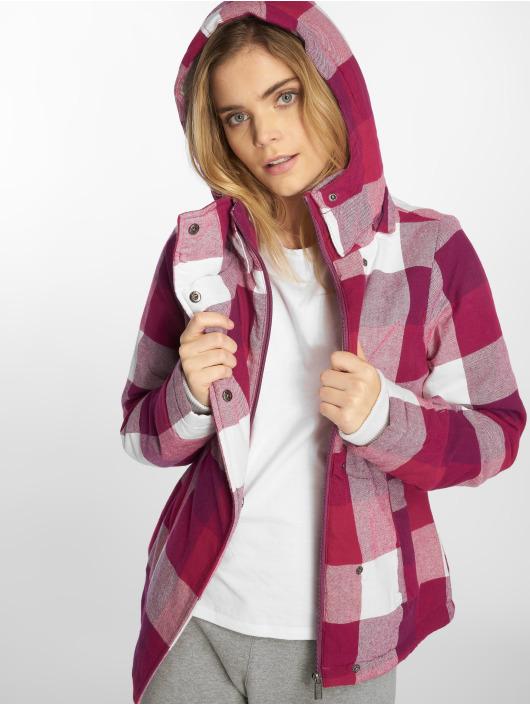 Sublevel winterjas Fog pink