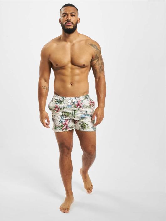 Suit Badeshorts Print Swim beige