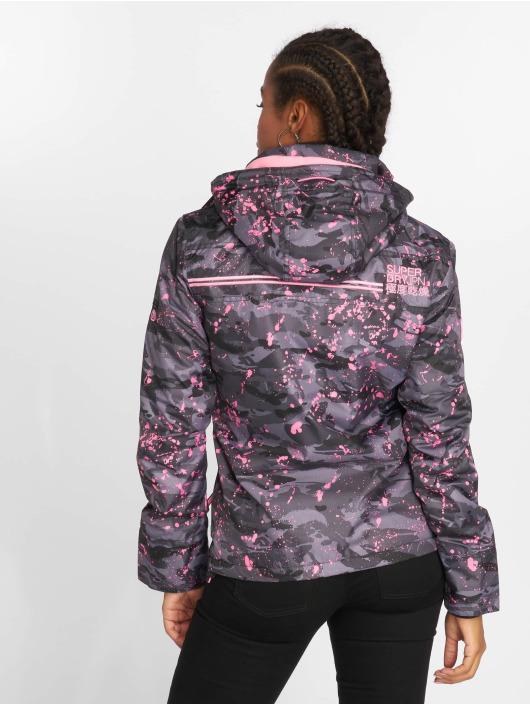 Superdry Lightweight Jacket Arctic Print Popzip camouflage