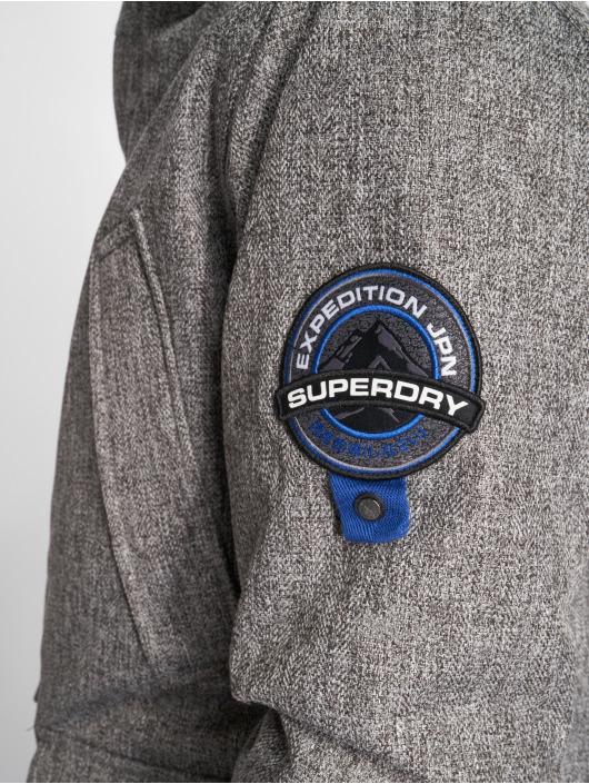 Superdry Parka Everest Tweed gris
