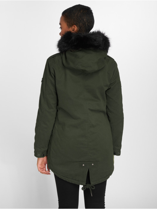 Khaki Superdry In Hawk Parka 526343 Jas Rookie rwIXrt