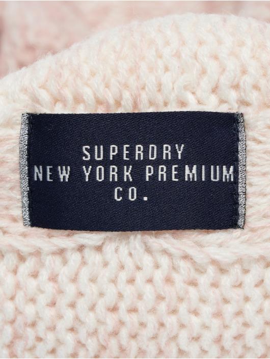 heißer Verkauf online frische Stile Beste Superdry Clarrie Cable Snood Scarf Sandy Pink Ombre