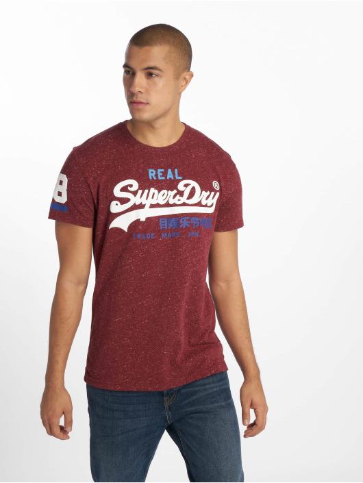 Superdry T-shirt Vintage rosso