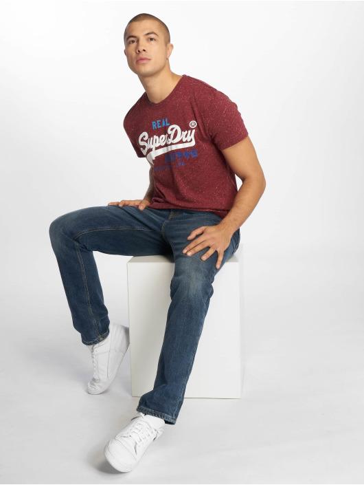 Superdry T-Shirty Vintage czerwony