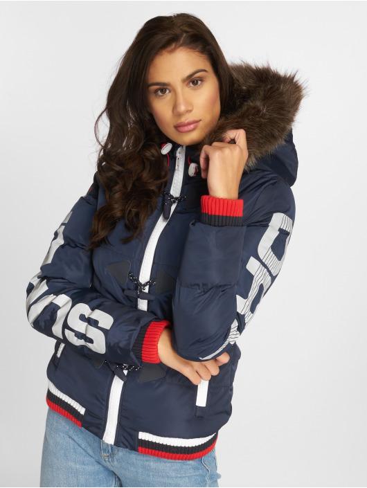 Superdry 526348 Femme Sportswear Snorkel matelassée bleu Veste PYw6PrqS ae7f4f6ab5b