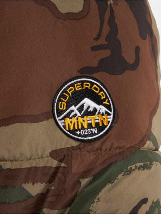 Superdry Vinterjakker Expedition Coat camouflage