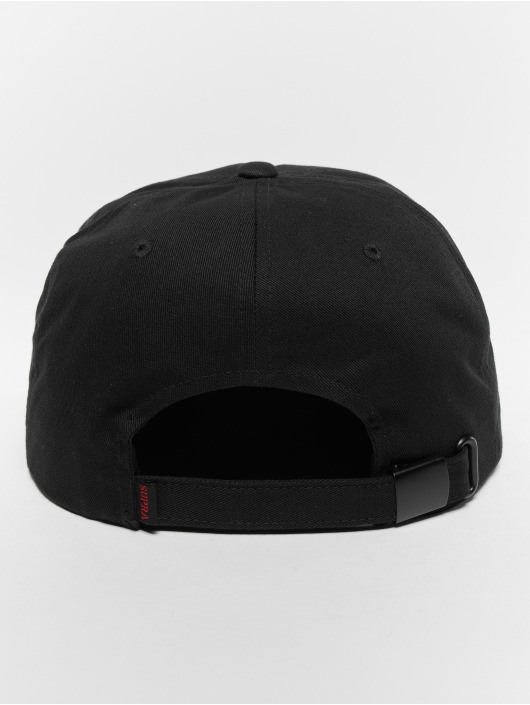 Supra Snapback Cap Jewel Pch Sldr black