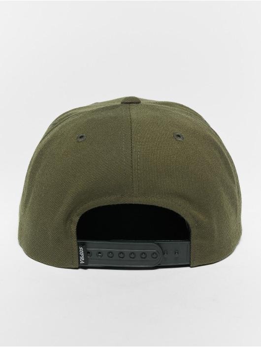 Supra Snapback Cap Icon Snap Back Hat olive