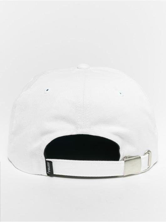 Supra Snapback Cap Crown Jewel Pch Sldr white