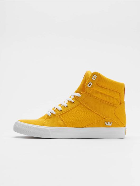 000b434325 Supra Herren Sneaker Aluminum in gelb 620377