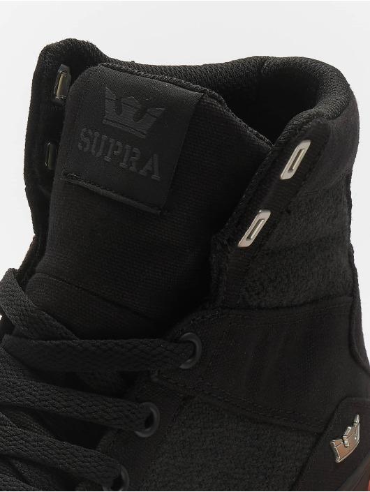 Supra Sneaker Aluminum schwarz