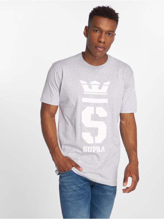 Supra T-Shirt Champ grey