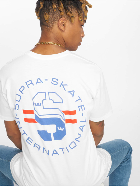 Supra T-Shirt Skate weiß