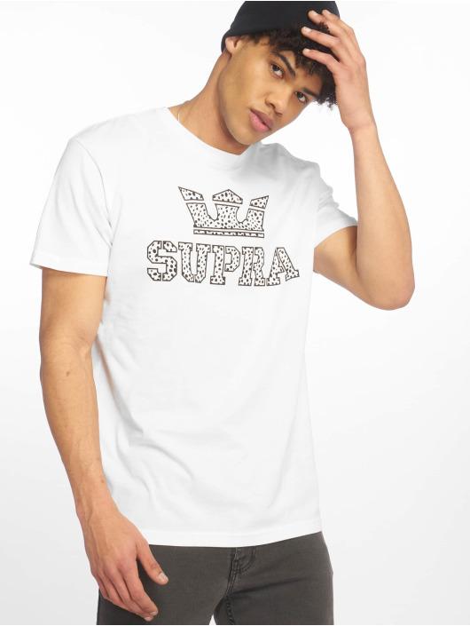 Supra T-skjorter Above Regular hvit