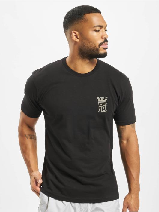 Supra T-skjorter Crown Army svart