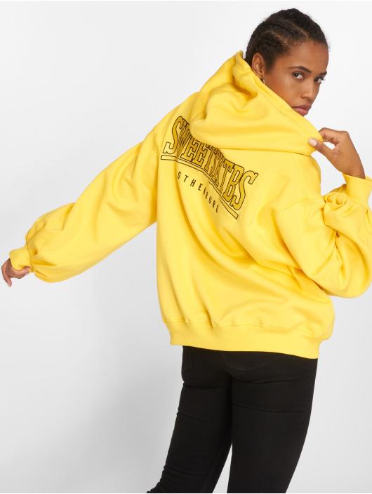 Sweet SKTBS Felpa con cappuccio Big Squeeze giallo