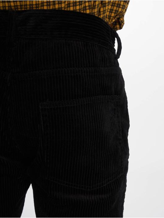 Sweet SKTBS Pantalon en velours Straight Leg Corduroy noir