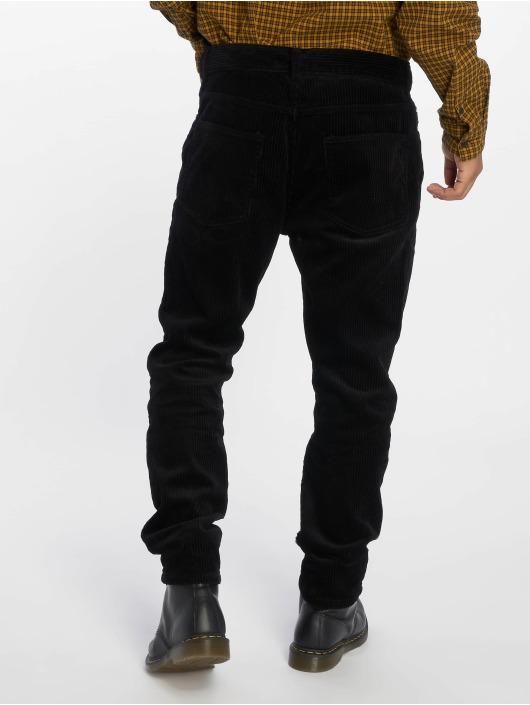 Sweet SKTBS Spodnie sztruksowe Straight Leg Corduroy czarny