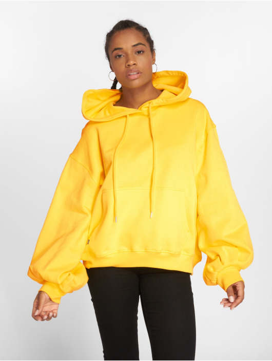 Sweet SKTBS Sweat capuche Big Squeeze jaune
