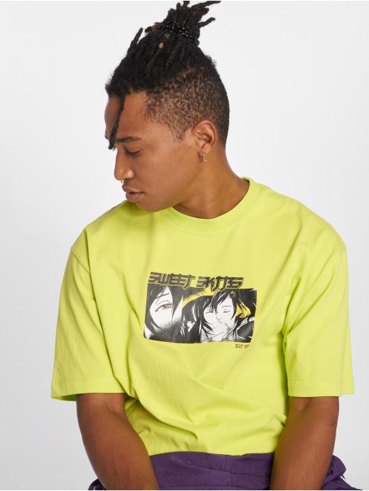 Sweet SKTBS T-paidat 90's Loose Kis keltainen