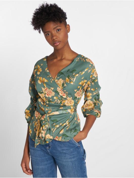 Sweewe Bluse Floral grün