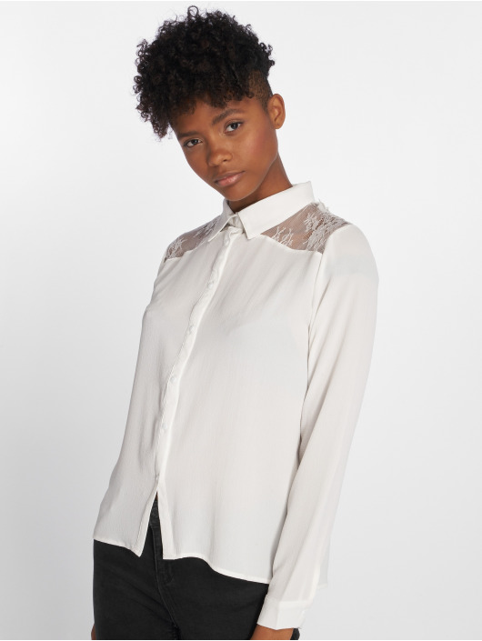 Sweewe Hemd Lace weiß