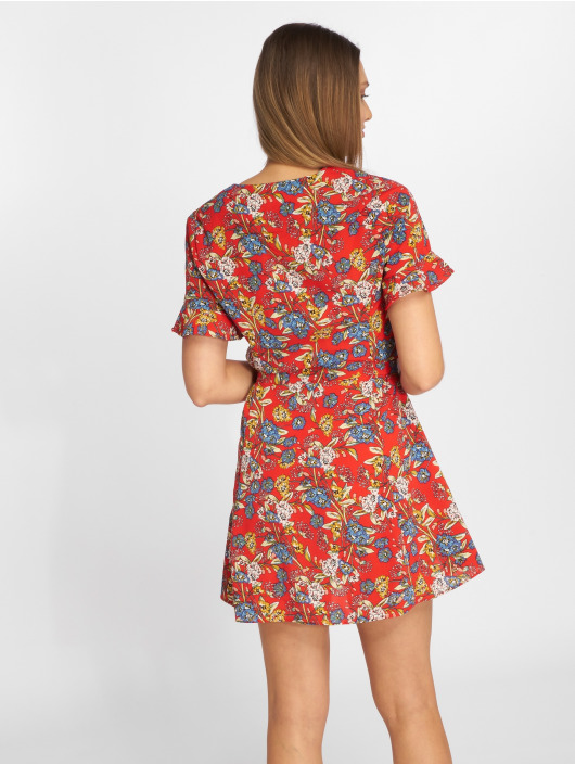Sweewe Kleid Floral rot