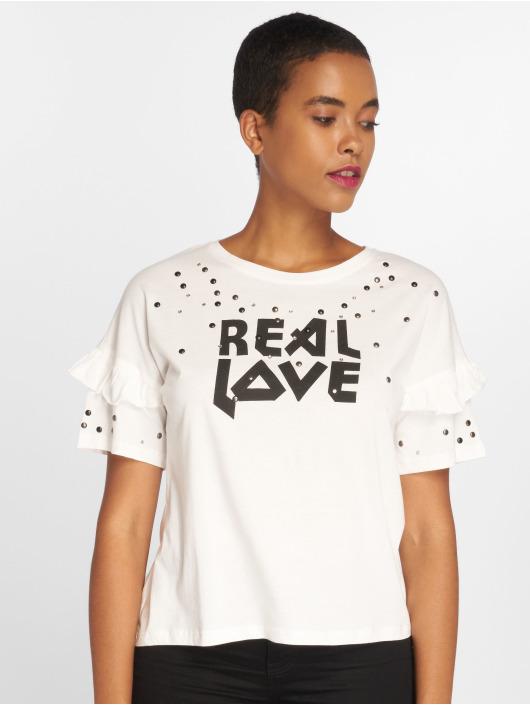 Sweewe T-Shirt Reallove weiß