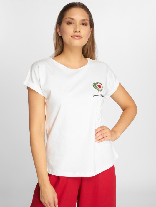Sweewe T-Shirt Sweetlove weiß