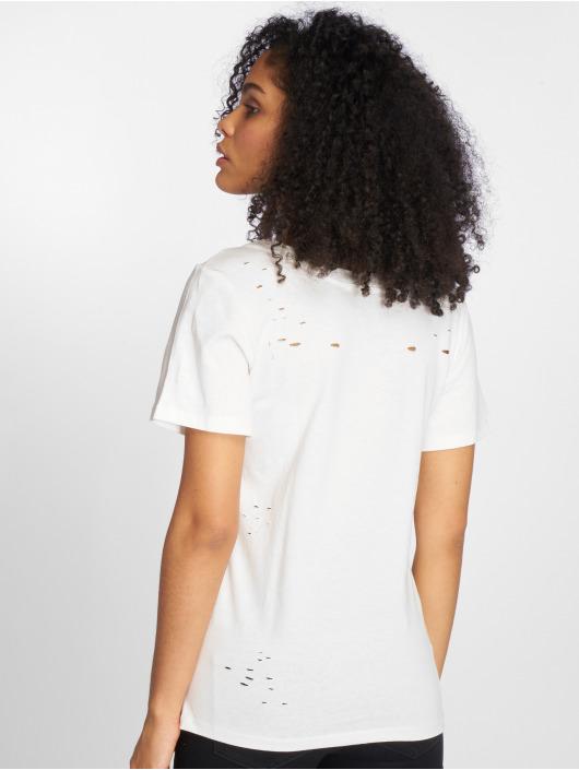 Sweewe T-Shirt Mademoiselle weiß