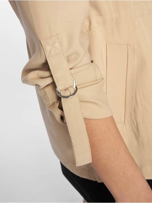 Tally Weijl Демисезонная куртка Almond Milk бежевый