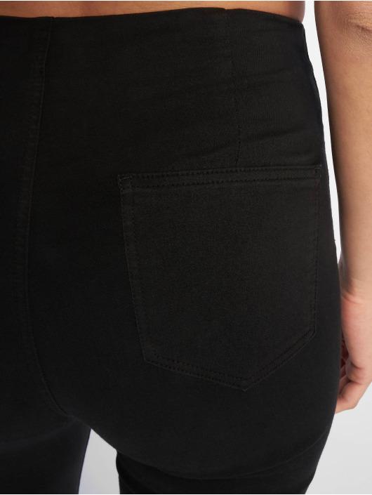 Tally Weijl Облегающие джинсы Zipped черный