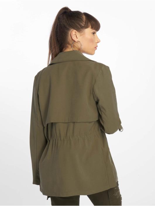 Tally Weijl Пальто Light оливковый