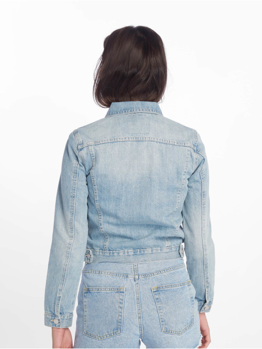Tally Weijl джинсовая куртка Denim синий
