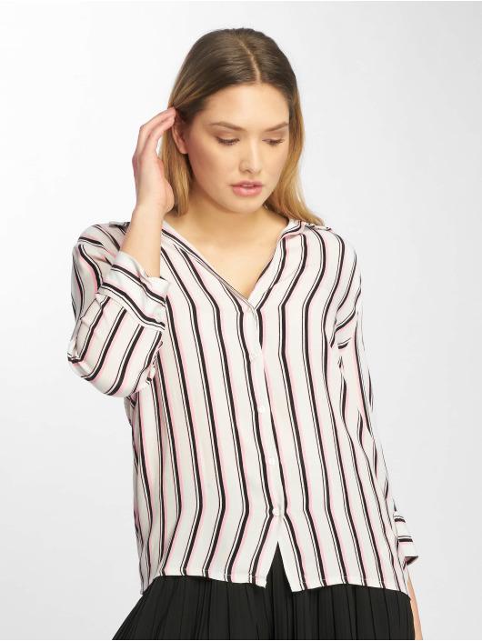 Femme Tally Blouseamp; Stripes 667430 Chemise Weijl Blanc 80OXnkwP