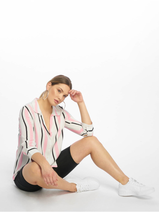 Tally Weijl Blouse & Chemise Stripes blanc