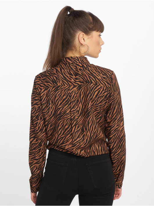 Tally Weijl Blus/Tunika Fancy Print brun