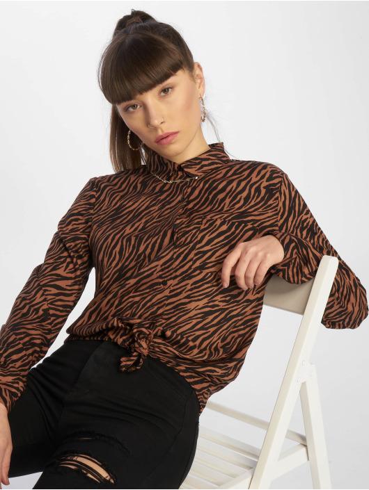 Tally Weijl Bluse Fancy Print brun