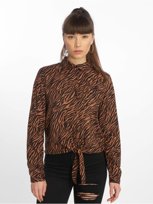 Tally Weijl Bluse Fancy Print brun
