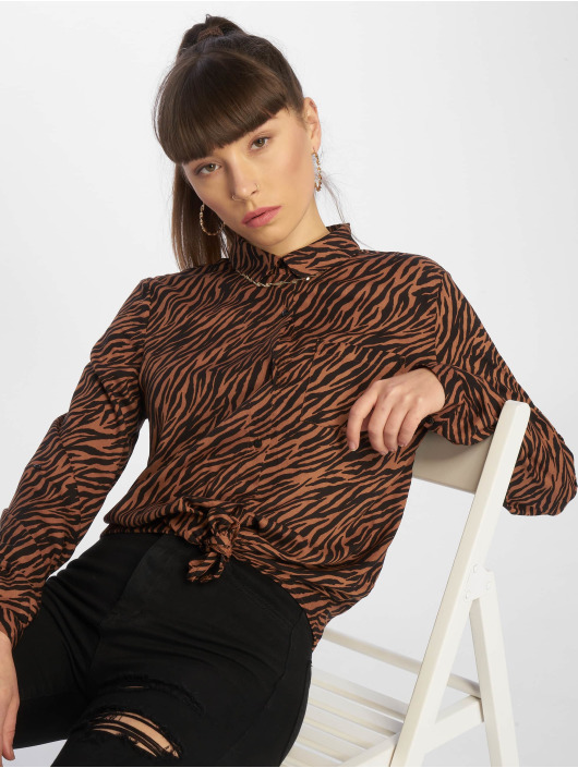 Tally Weijl Bluser/Tunikaer Fancy Print brun
