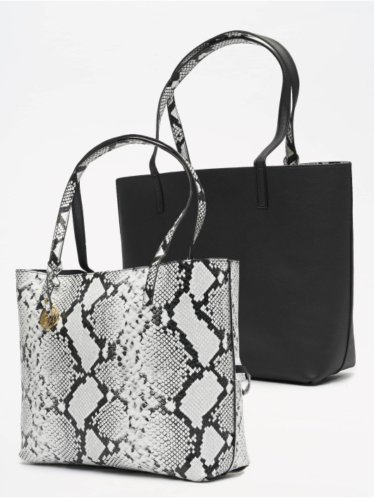 Tally Weijl Bolso Revisible Snake blanco