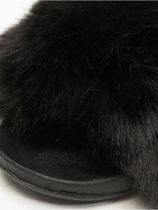 Tally Weijl Claquettes & Sandales Fur noir