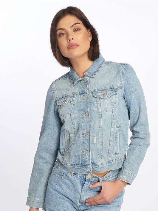 Tally Weijl Giacca Jeans Denim blu