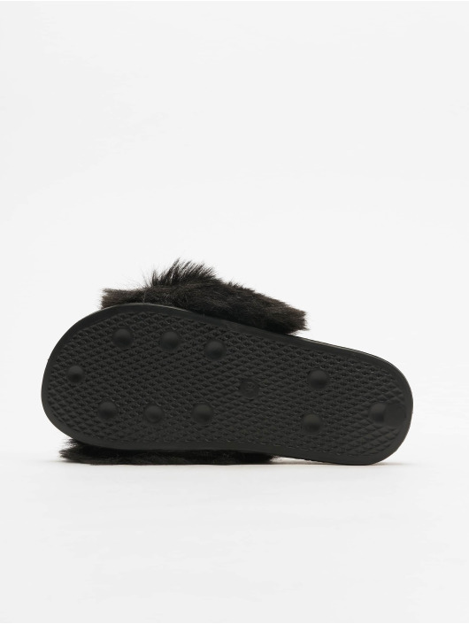 Tally Weijl Japonki Fur czarny