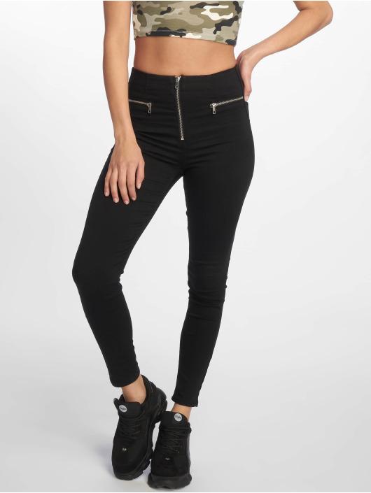 Tally Weijl Jean skinny Zipped noir