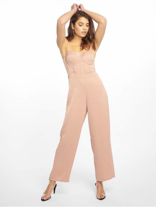Tally Weijl Jumpsuits Long Romper růžový