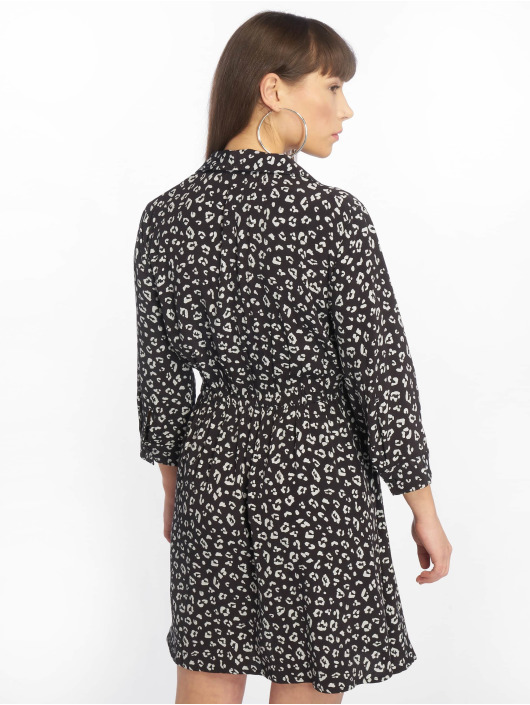 Tally Weijl Kleid Maroccan Crepe Long schwarz