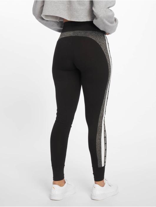 Tally Weijl Leggings/Treggings Knit Print Fancy czarny