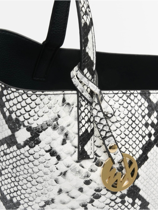 Tally Weijl Sac Revisible Snake blanc