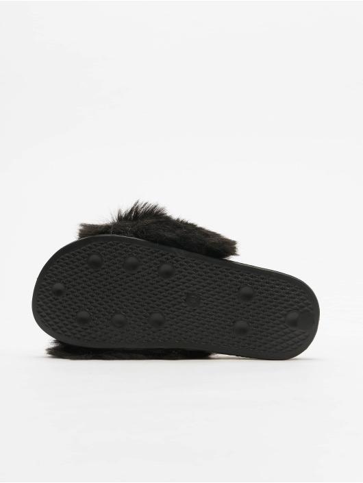 Tally Weijl Sandals Fur black